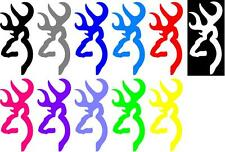 Browning window deer decal sticker