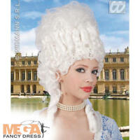 Deluxe Marie Antoinette Wig White Renaissance French Royal Fancy Dress Accessory