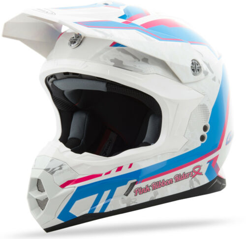 GMAX MX86 PINK RIBBON HELMET WHITE//PINK//BLUE L G3863406 TC-14