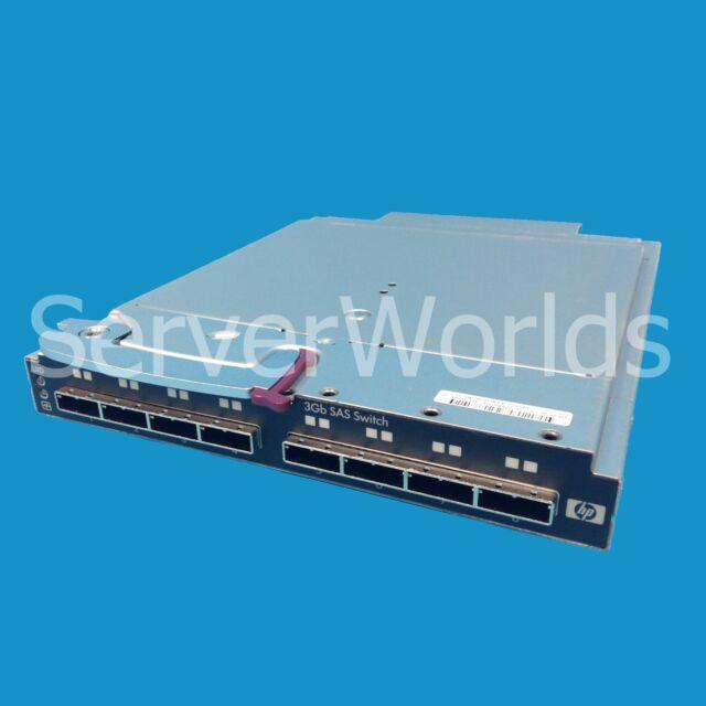 HP Storageworks 8 Port 3GB SAS Blade Switch 451789-001 AJ864A