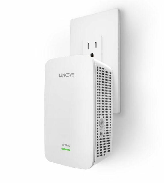 Linksys RE6800 AC1750 Wi-Fi Range Extender TESTED WORKING FREE SHIP