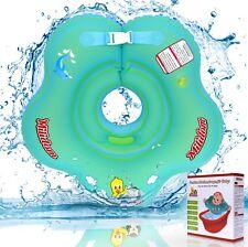 Baby Schwimmring Hals I Aufblasbare Schwimmhilfe für Baby I Schwimmreifen