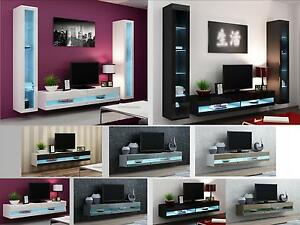 Attractive Image Is Loading High Gloss Living Room Furniture TV Stand Wall  Part 28