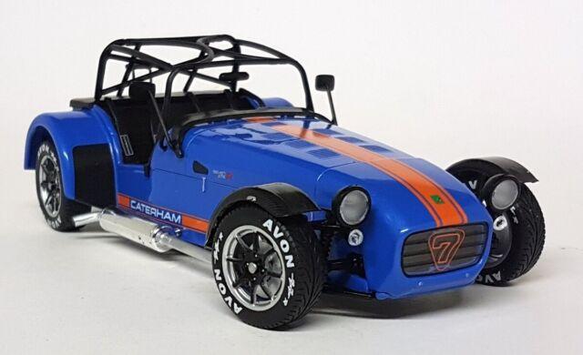 Solido 1/18 Scale - Caterham Super 7 275R Academy Blue Diecast model car