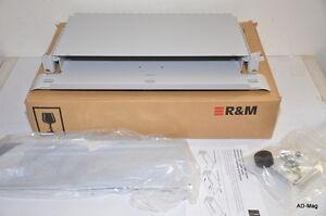 Cablage-Fibre-Optique-Tiroir-19-034-gestion-surlongueur-R-amp-M-RDM-R305758-NEUF