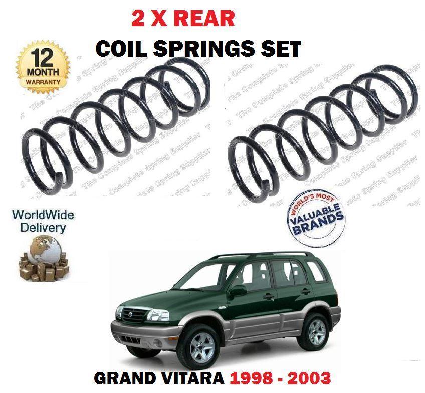 Für Suzuki Grand Vitara 1.6 2.5 2.0 Hdi 1998-2003 Neu 2x Fahrwerksfedern Satz