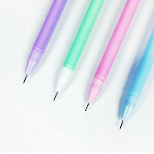 6PCS Cute Kawaii Colorful Owl Gel Ink Roller Ball Point Pen School Kids Pens