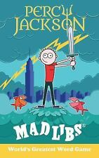 Mad Libs: Percy Jackson Mad Libs by Leigh Olsen (2017, Paperback)
