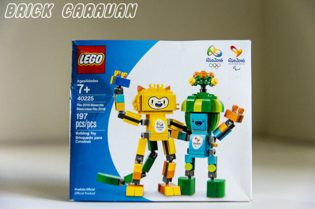 2016 OLYMPIC GAMES 197 PC Lego 40225 Rio 2016 Mascots