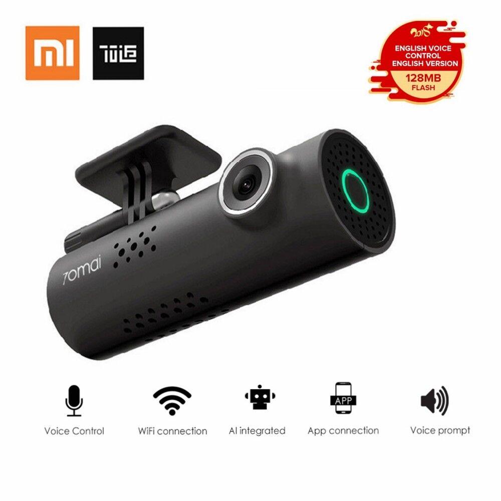 s-l1600 Xiaomi 70 Minutes 70mai Smart WiFi Car DVR Dash Camera 1080P HD English Version