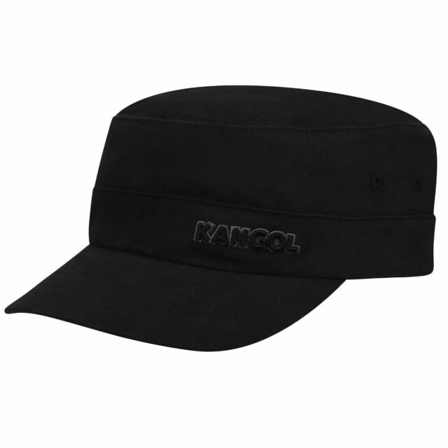 4dcb01f252d Kangol Black Cotton Twill Flexfit Army Cap 9720bc XXL for sale ...