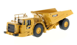 Dcm85191 - Caterpillar Ad45b Tunnellier Accompagné D'une Figurine 1/50