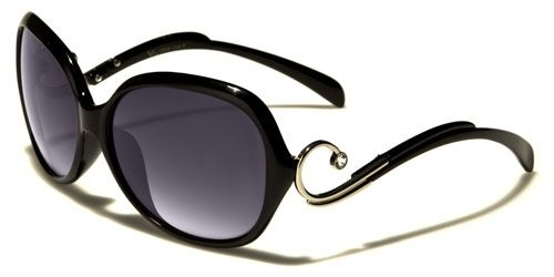 VG Designer Oversized Butterfly Oval Crystal Womens Sunglasses 100/%UV400 2908
