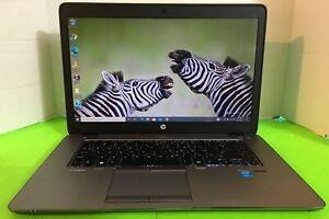 HP EliteBook 850 G2 15.6 inch Intel i5-5200U 2.20 GHz 8Gb Ram 500Gb HDD W10 Pro