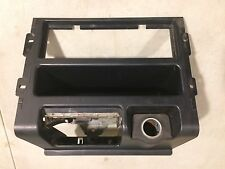 OEM USDM 88-91 Honda CRX DX HF Si SH2 Center Radio Console Black Shell Bezel