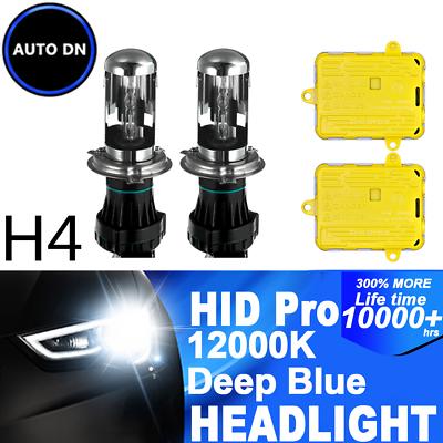 Suzuki Jimny FJ 55w Tint Xenon HID High//Low//Side Headlight Bulbs Set