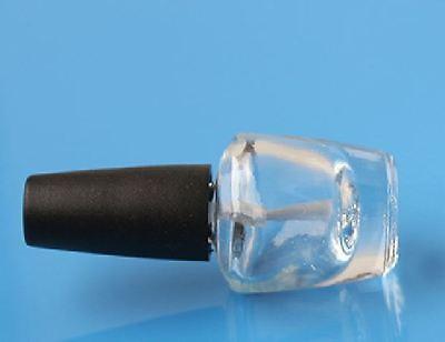 3ml empty nail polish bottle oil bottle  agitator balls & mini funnel 5-10PCS