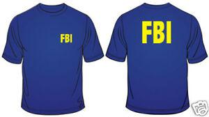 FBI-Federal-Bureau-Of-Investigation-Novelty-Mens-Loose-Fit-Cotton-T-Shirt