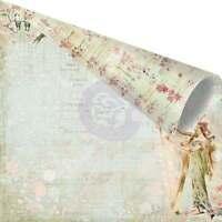 Prima Princess 12x12 Collection 16 Sheets Kit 8 Design 2 Pcs Of Each + Free Lace
