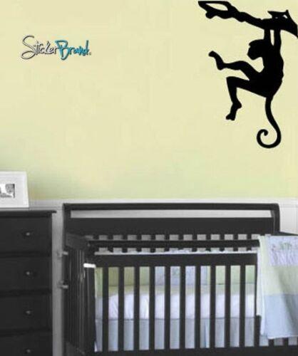 Vinyl Wall Art Decal Sticker Monkey on TreeBranch 21x31
