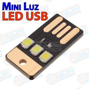Collection Ici Mini Lampara Led Smd2835 Usb Tipo A Linterna Para Bateria Externa - Arduino Elec 100% De MatéRiaux De Haute Qualité