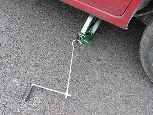 1 TON SCISSOR CAR WHEEL JACK WIND UP for HONDA INTEGRA lifting floor garage