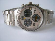 "Swatch irony Chrono ""see my time"" + artículo nuevo + fliplock"