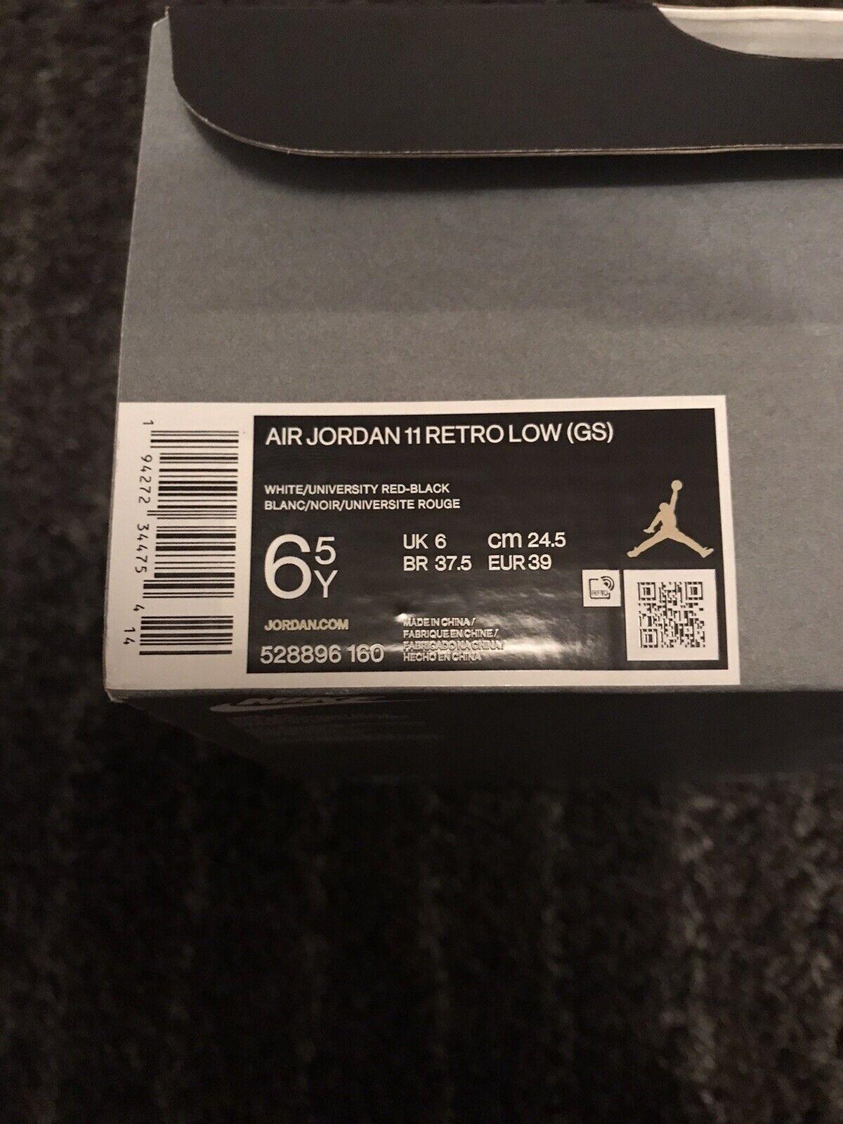 Jordan 11 Concord Bred Gs 6uk 6.5Y 39eu
