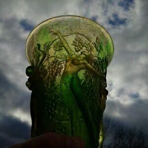 Unique-vase-aux-bacchantes-nues-signe-G-Argy-Rousseau-pate-de-verre