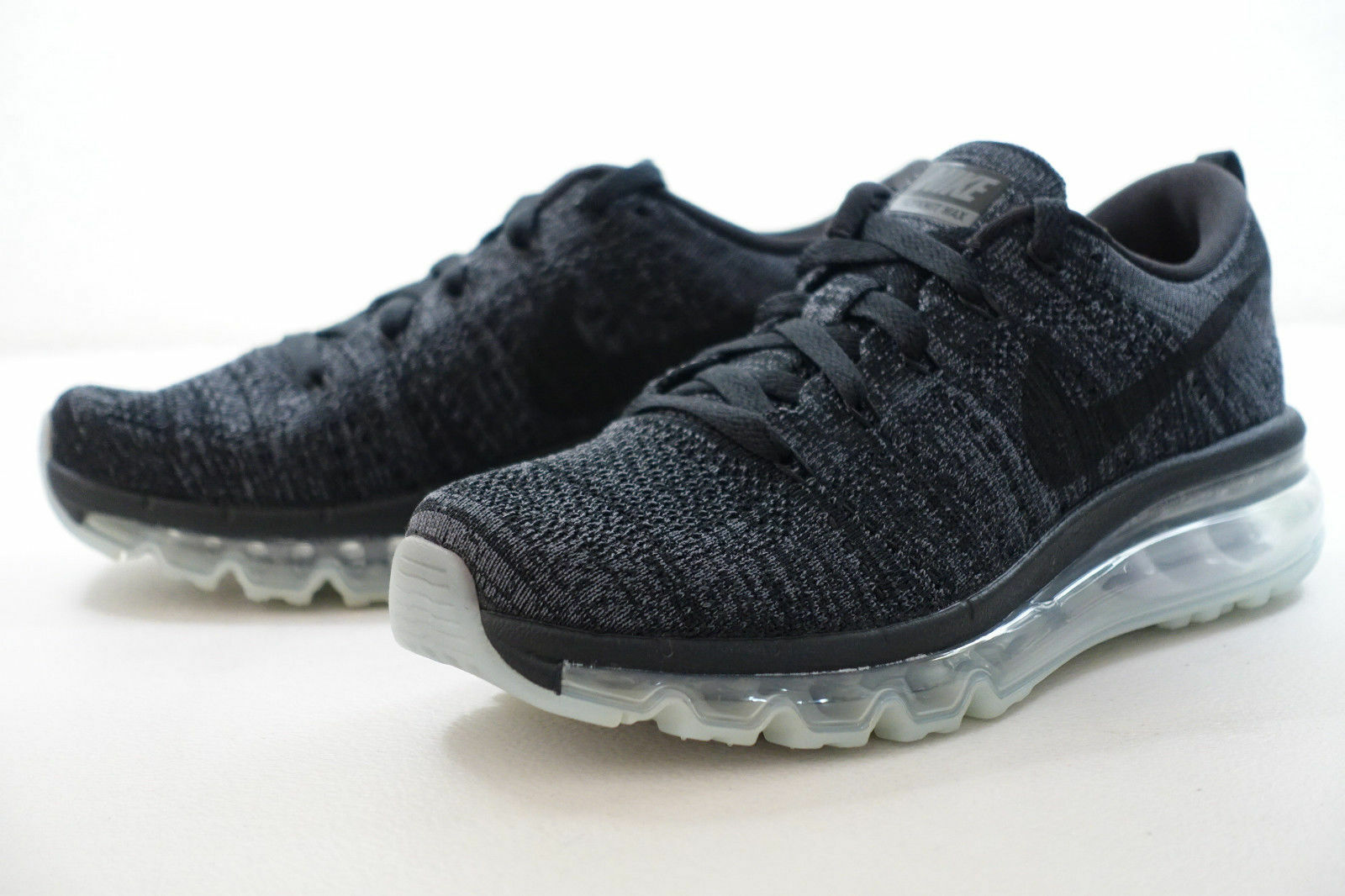 DAMEN Nike Flyknit Max Schuhe Schwarz Grau Anthrazit 620659 620659 620659 010 Msrp 961548