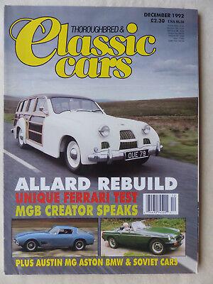 Allard Safari Ferrari 250gt Austin A40 Mgb Von Der Konsumierenden öFfentlichkeit Hoch Gelobt Und GeschäTzt Zu Werden Classic Cars Uk-magazin 12/1992