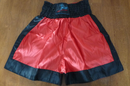 MARTIAL ARTS RED /& BLACK SHORTS   VARIOUS SIZES  BRAND NEW FORCE BOXING