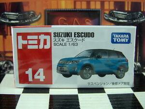 TOMICA #14 SUZUKI ESCUDO 1//63 SCALE NEW IN BOX