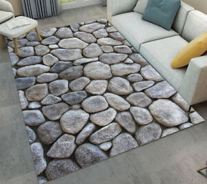 New Design Image Stone Area Rug Home Floor Decorative