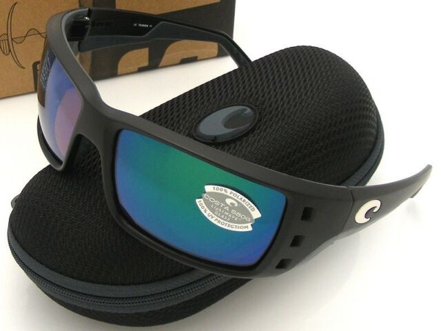 75e6e112513 Costa Del Mar PT 11 OGMGLP Permit Black Green Mir 580g Sunglasses ...