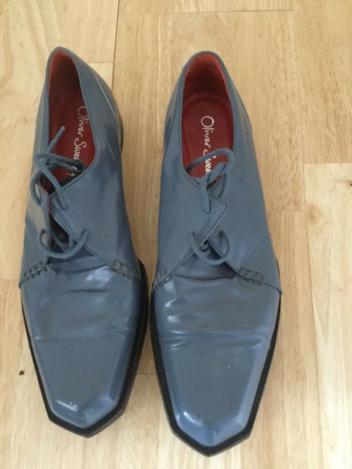 Oliver sweeney shoes  size 9.5 colour grey