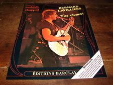 BERNARD LAVILLIERS - PUBLICITE T'ES VIVANT !!!!!!!!!!!!