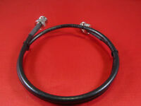 6 Ft RFC-195 Coax Jumper Cable UHF PL-259 Male to BNC Female.