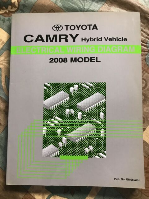 Toyota Camry Repair Manual Electrical Wiring Diagram 2008