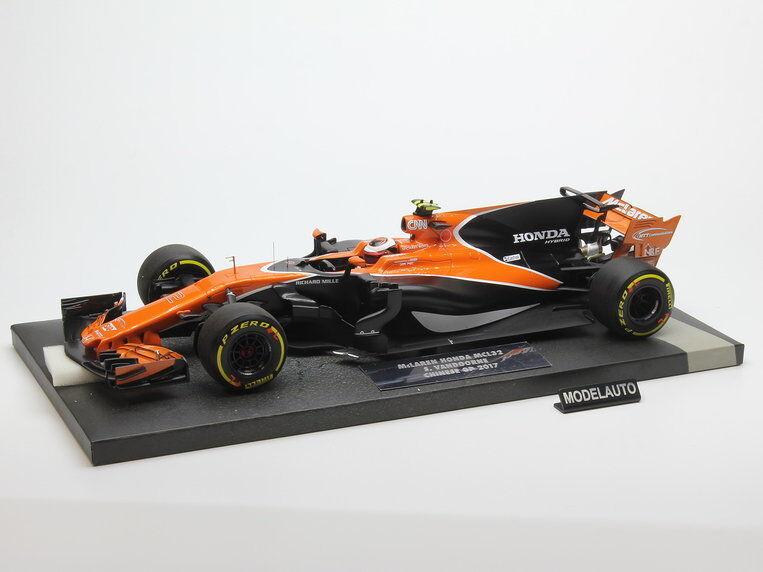 Minichamps 1 18 McLaren Honda MCL32   Stoffel Vandoorne   Australian GP 2017