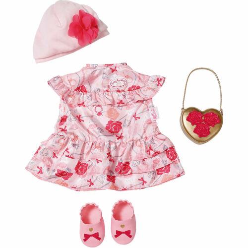 BABY Annabell Deluxe Set fiori 43 CM vestiti bambole cose bambole