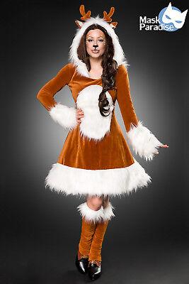 - Da Donna Costume Rehkitz Kitz Bambi Cervo Renna-mostra Il Titolo Originale