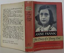 ANNE FRANK The Diary of a Young Girl FIRST EDITION