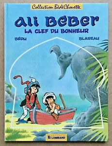 ALI-BEBER-T-2-La-Clef-Du-Bonheur-EO-1986-Bedu-Univers-Tintin-TBE
