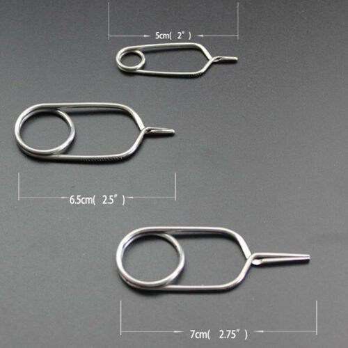 tip hackle pliers// feather clips rapping hackle tools for fly fishing tying BSCA