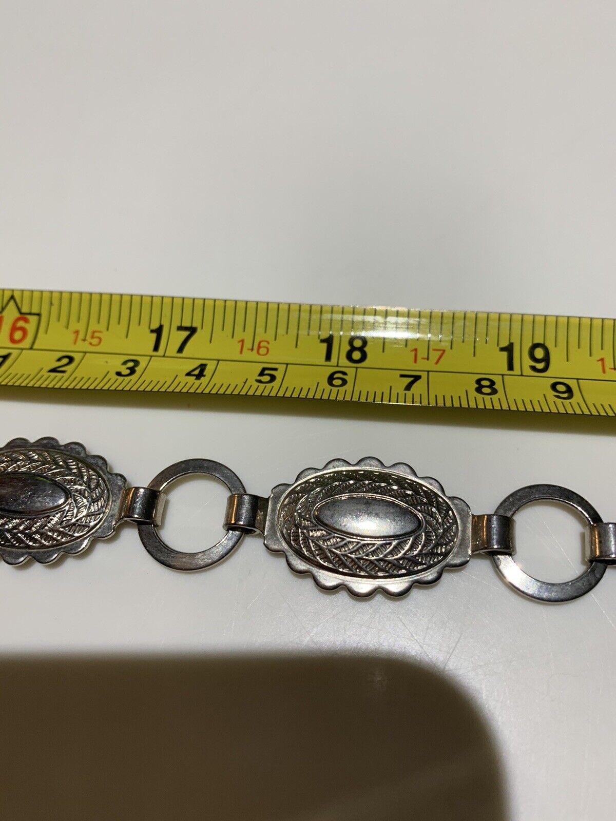 metal belt 1940s Vintage Pretty - image 7