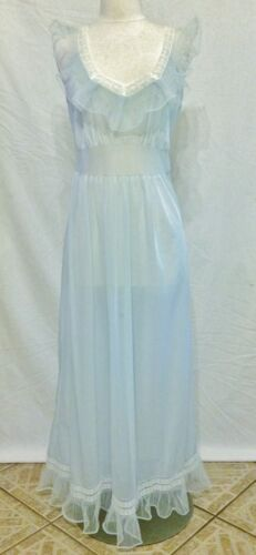 Vintage Faerie Surelock Nylon Nightgown Sheer Full