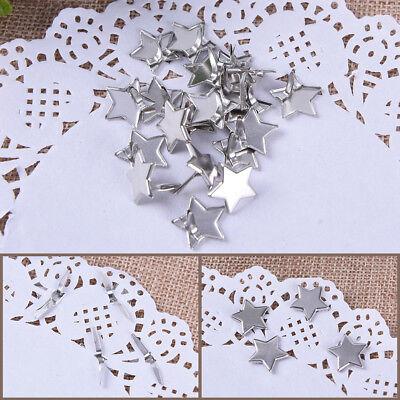 Scrapbooking Card Making Diamond mini Pastel soft stamping round Brads DIY craft
