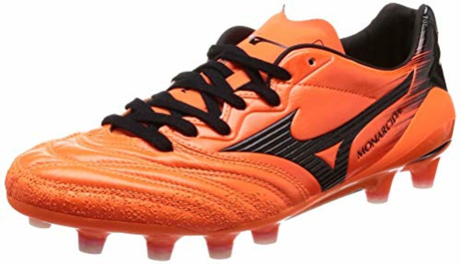 MIZUNO Soccer Spike zapatos MONARCIDA 2 NEO JAPAN P1GA1820 naranja US8(26cm) F S