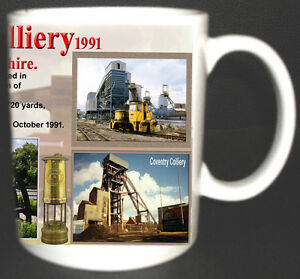 COVENTRY-COLLIERY-COAL-MINE-MUG-LIMITED-EDITION-GIFT-MINERS-WARWICKSHIRE-PIT